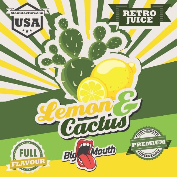 Retro Juice Lemon and Cactus by Big Mouth
