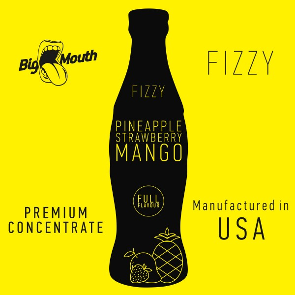 Fizzy Pineapple | Strawberry | Mango Aroma by Big Mouth