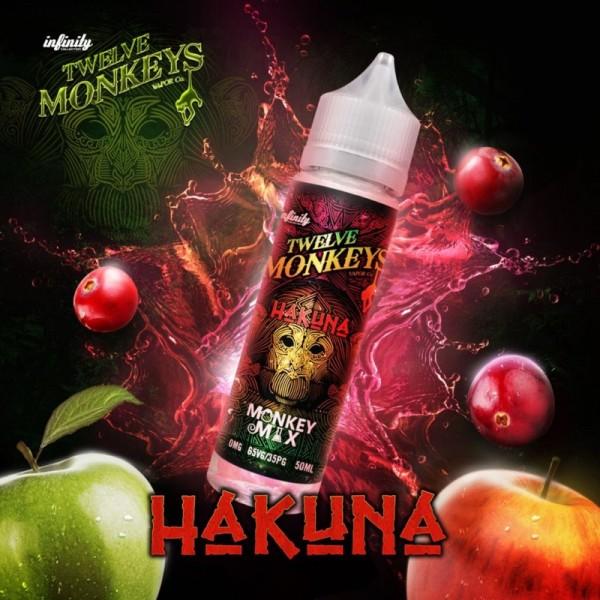 Twelve Monkeys - Hakuna - Liquid 50ml