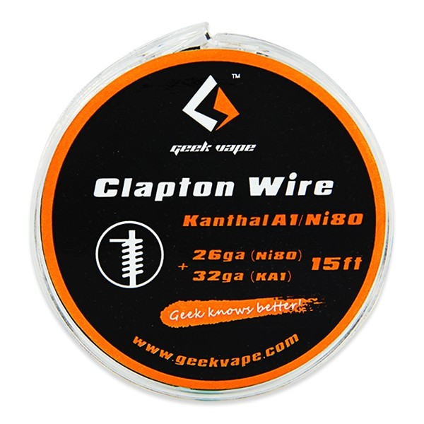 GeekVape - Ni80 + Kanthal A1 Clapton - Wickeldraht