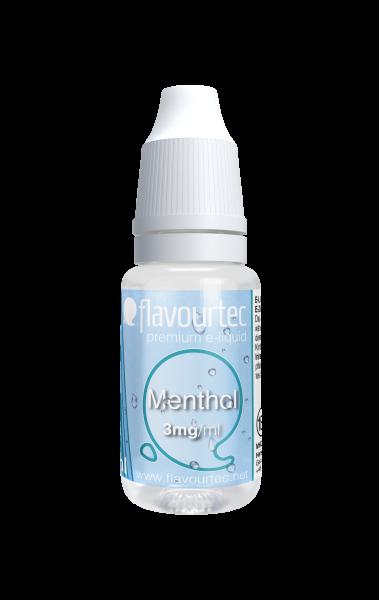 Menthol e-Liquid - 10ml - Flavourtec