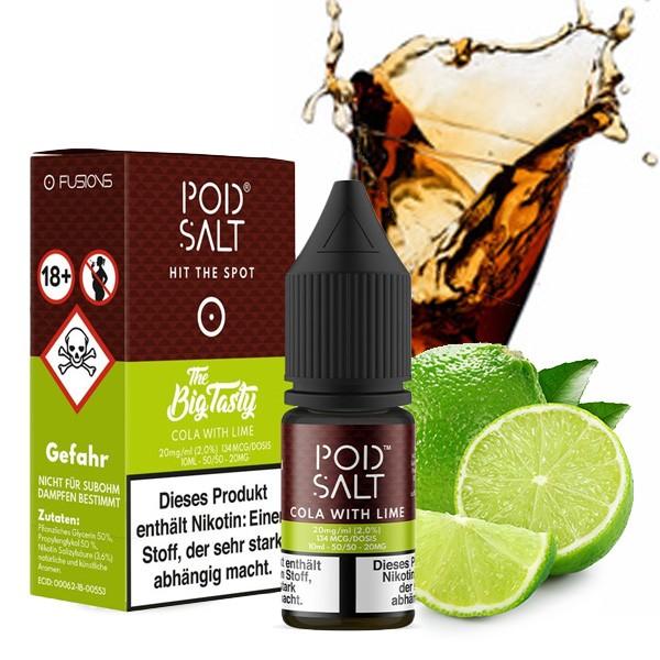 Pod Salt Liquid Cola with Lime Nikotinsalz 20mg/ml