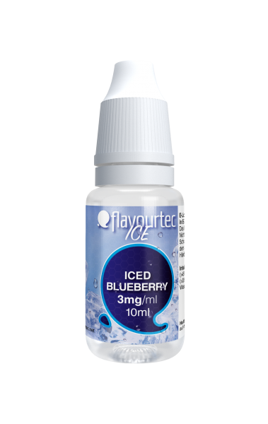 Iced Blueberry e-Liquid - 10ml - Flavourtec