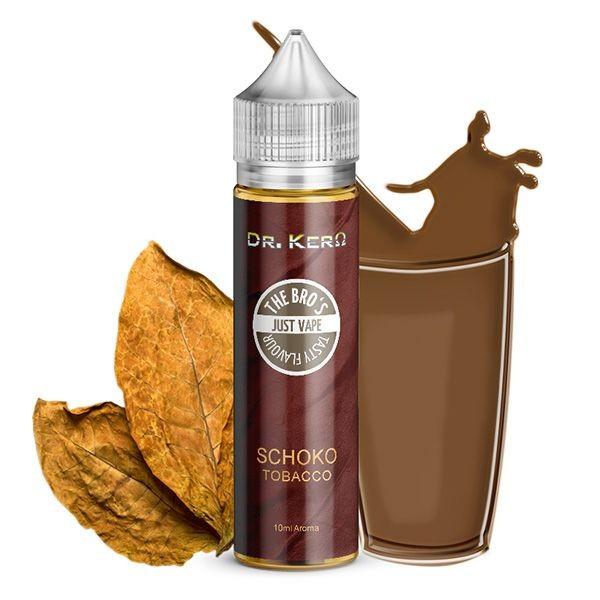 The Bro's X Dr. Kero - Schoko Tobacco - 10ml Aroma