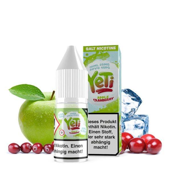 Yeti Liquid Apple Cranberry Nikotinsalz