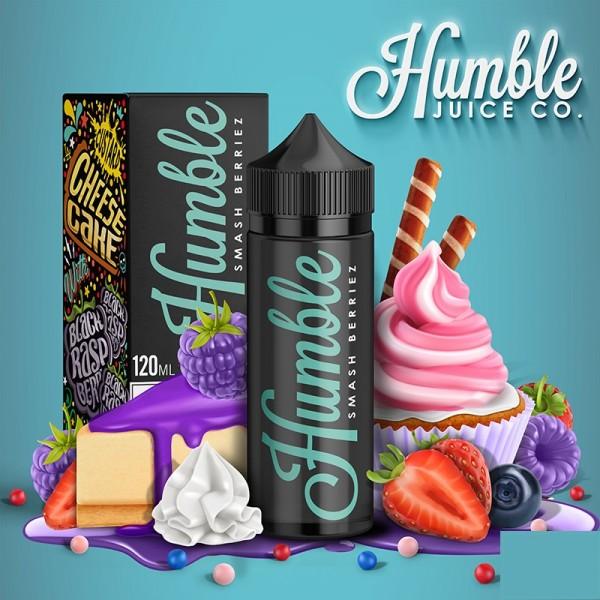 Humble Plus Liquid Smash Berriez 100ml