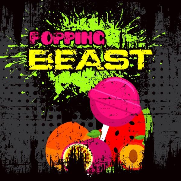 Popping Beast - Shake'n'Vape - Liquid 50ml by Big Mouth