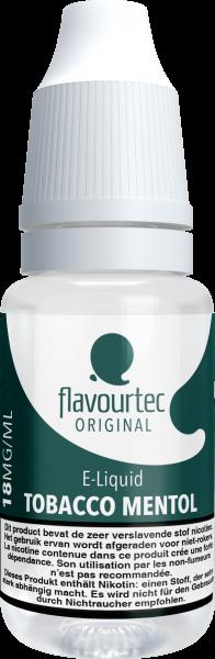 Tobacco & Menthol - e-Liquid - 10ml - Flavourtec