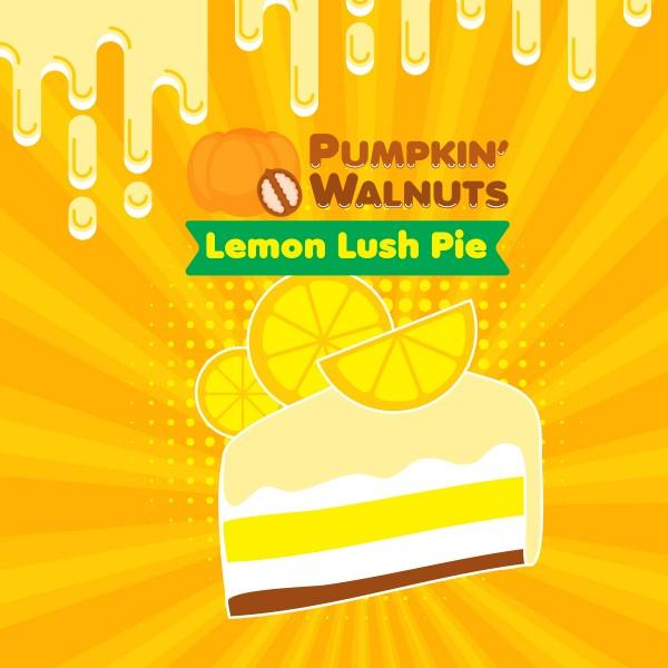 Lemon Lush Pie - Shake'n'Vape - Liquid 50ml by Big Mouth