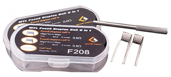 GeekVape - MTL Fused Clapton Coil 2 in 1 (8 Stück) F208