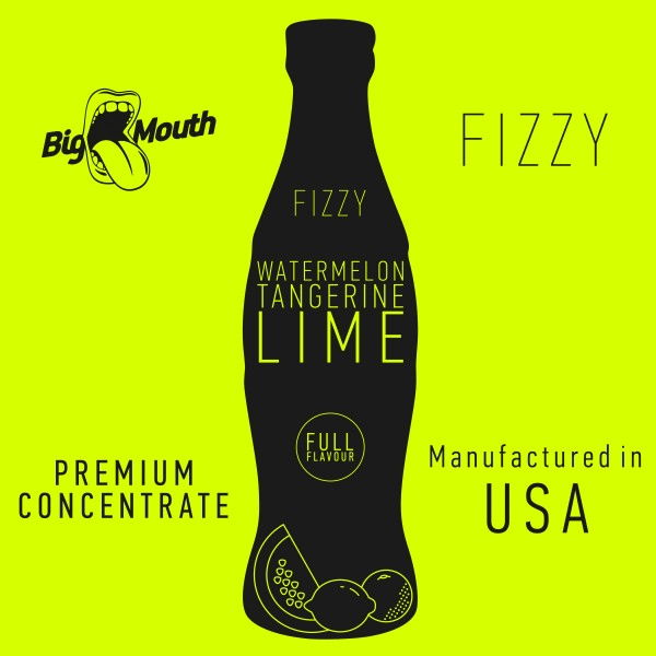 Fizzy Watermelon | Tangerine | Lime Aroma by Big Mouth