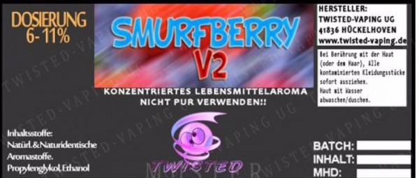 Smurfberry V2 - Aroma Twisted 10ml