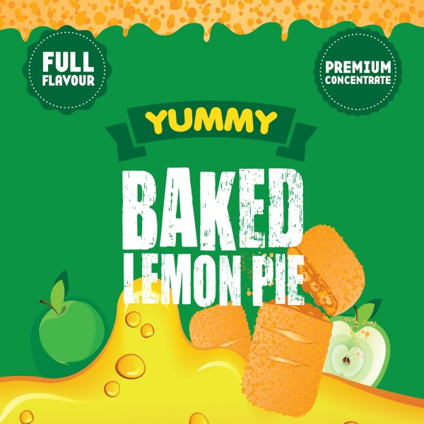Yummy Baked Lemon Pie Aroma by Big Mouth