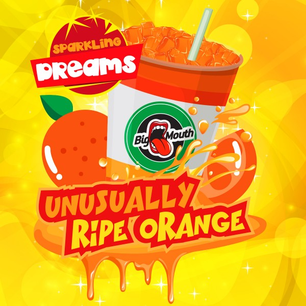 Unusually Ripe Orange - Shake'n'Vape - Liquid 50ml by Big Mouth