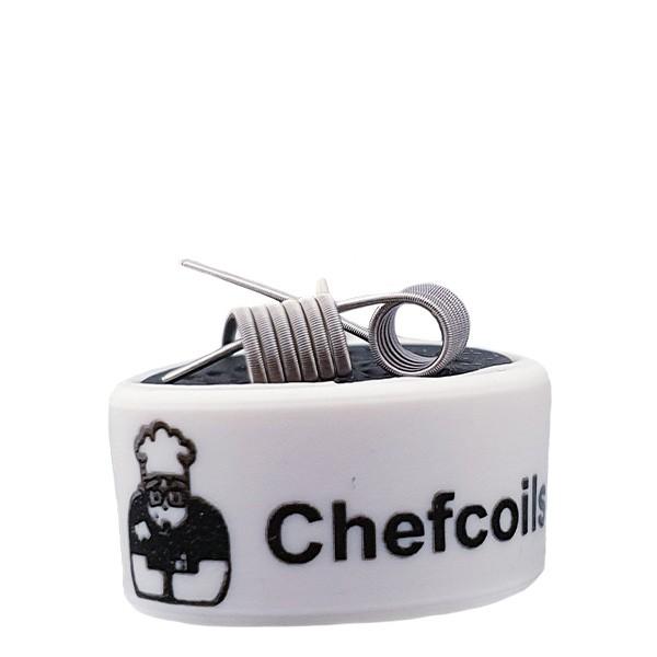Chefcoils Handmade Fine Fused Clapton Ni80/V2A Coil