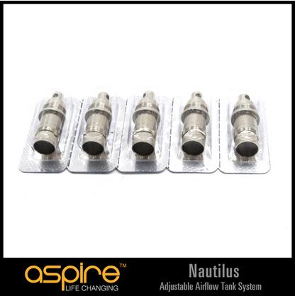 Aspire Nautilus BVC Verdampferköpfe Coils