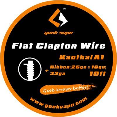 GeekVape - Kanthal A1 Flat Clapton - Wickeldraht