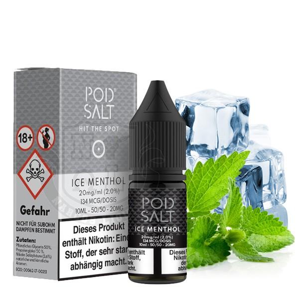 Pod Salt Liquid Ice Menthol Nikotinsalz 20mg/ml