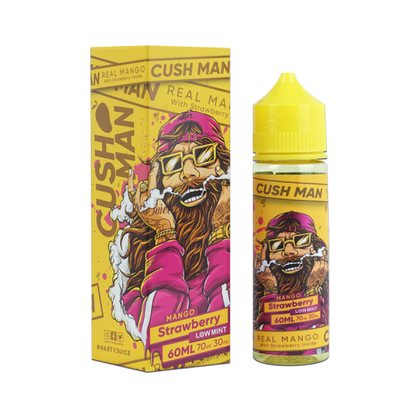 Nasty Juice - Cush Man - Real Man with Strawberry - Liquid 50ml