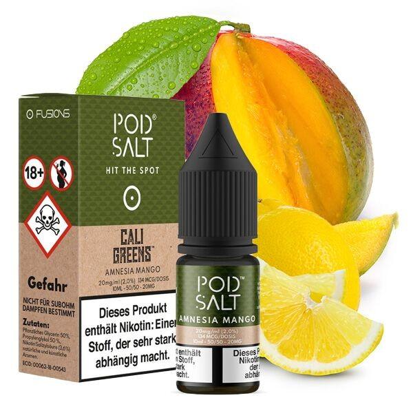 Pod Salt Liquid Amnesia Mango Nikotinsalz 20mg/ml