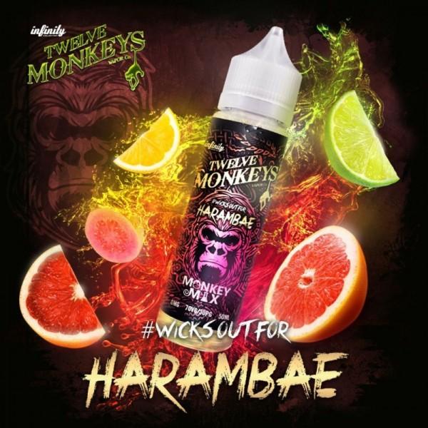 Twelve Monkeys - Harambae - Liquid 50ml