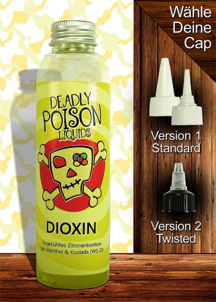Dioxin - Liquid - 100ml - Deadly Poison Liquids