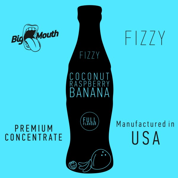 Fizzy Coconut | Raspberry | Banana Aroma by Big Mouth