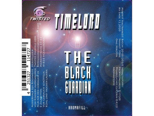The Black Guardian - Timelord - Twisted - Liquid 50ml