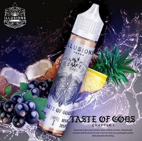 Illusions Vapor - Taste of Gods - Liquid 50ml