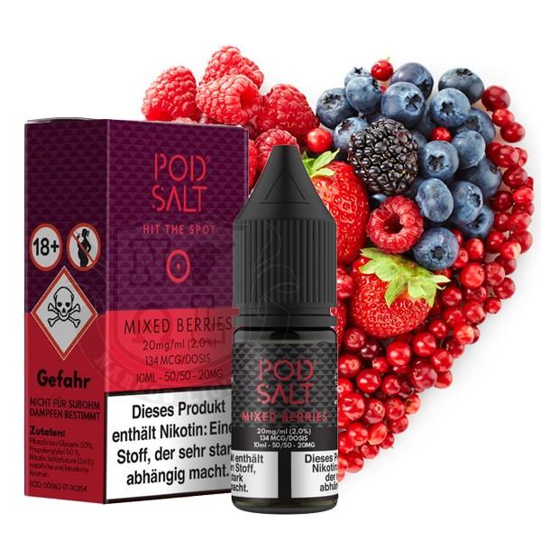Pod Salt Liquid Mixed Berries Nikotinsalz 20mg/ml