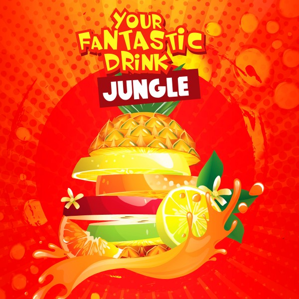 Jungle - Shake'n'Vape - Liquid 50ml by Big Mouth