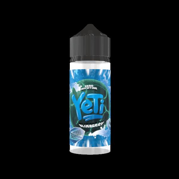 Yeti Blizzard Liquid Blueberry Shortfill