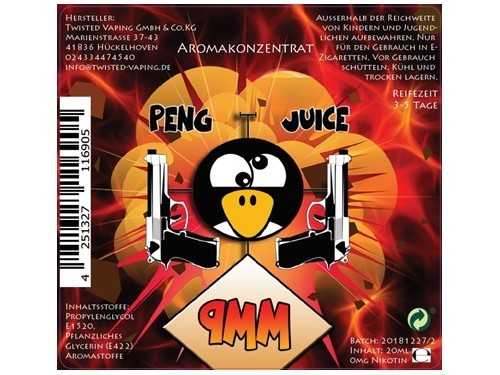 Twisted - Peng Juice - 9mm - 20ml Aroma