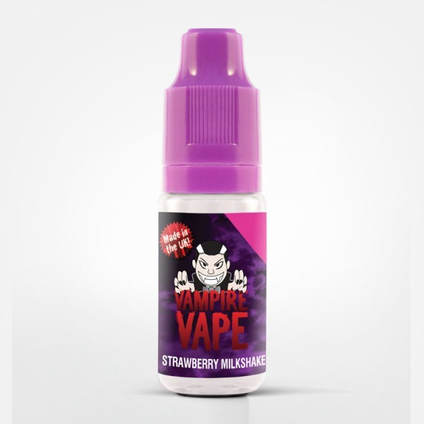 Vampire Vape - Strawberry Milkshake - e-Liquid - 10ml