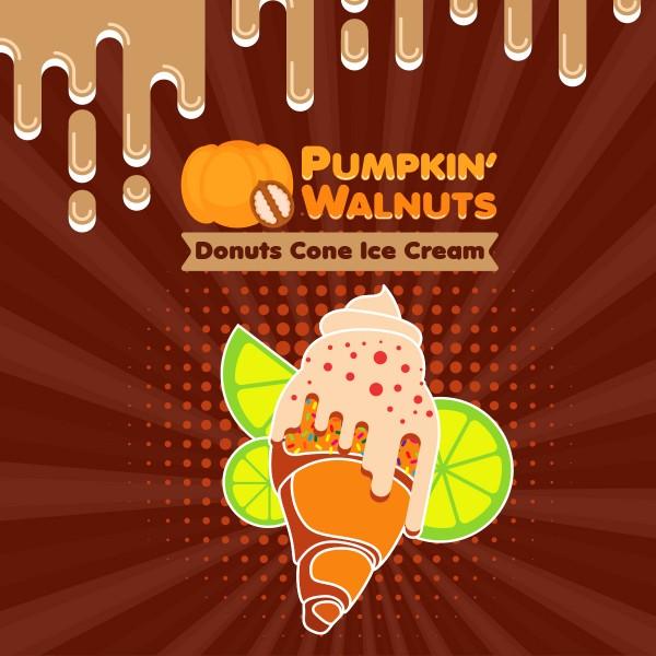 Donuts Cone Ice Cream - Shake'n'Vape - Liquid 50ml by Big Mouth