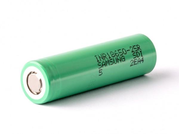 Samsung - INR18650 25R- 20A - 2500mAh Akku