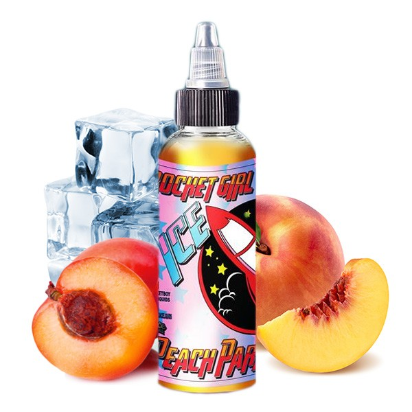 Peach Parallax Ice Aroma für 60ml - Rocket Girl
