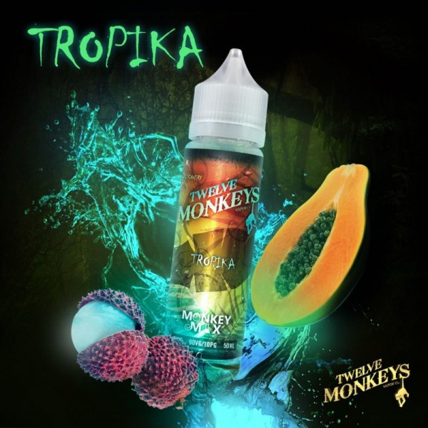 Twelve Monkeys - Tropika - Liquid 50ml