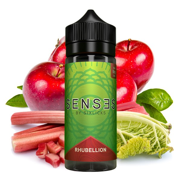 Rhubellion - Sense - Liquid - 100ml - by Six Licks
