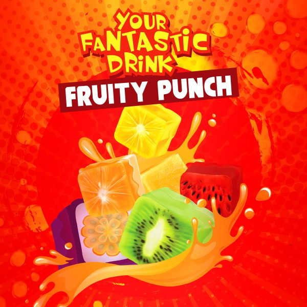 Fruity Punch - Shake'n'Vape - Liquid 50ml by Big Mouth