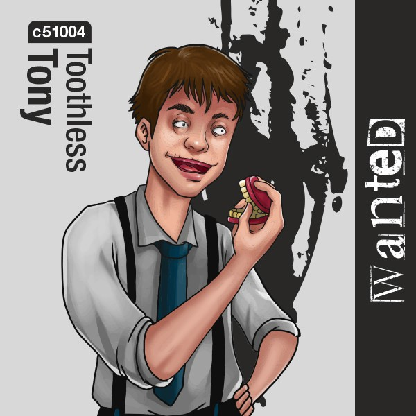 Toothless Tony Aroma Wanted 10ml