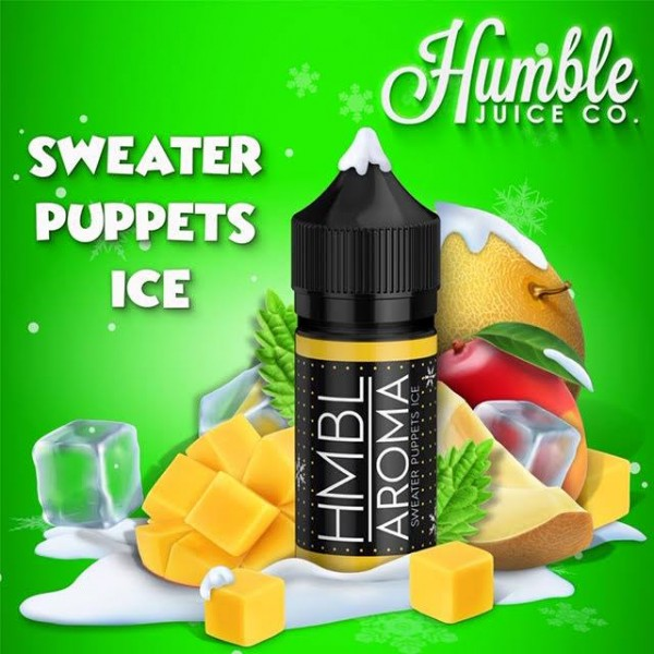 Sweater Puppets Ice - Aroma - Humble Juice - 30ml