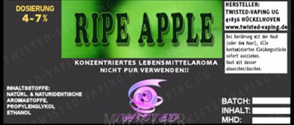 Ripe Apple - Aroma Twisted 10ml