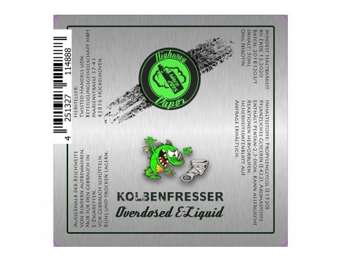 Kolbenfresser - Highway Vapor - Twisted - Liquid 50ml