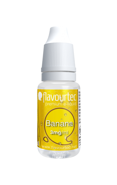 Banane e-Liquid - 10ml - Flavourtec