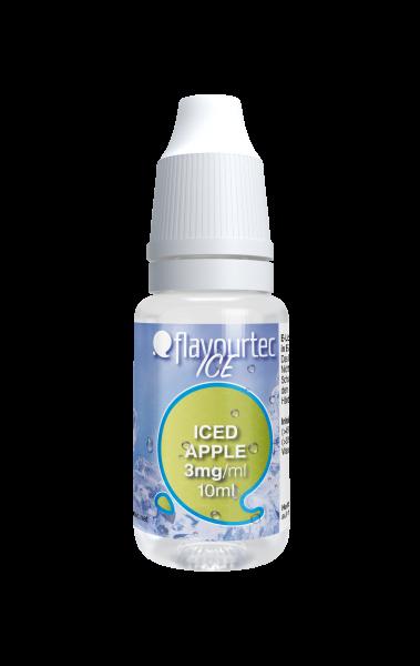 Iced Apple e-Liquid - 10ml - Flavourtec