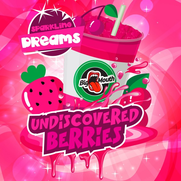 Undiscovered Berries - Shake'n'Vape - Liquid 50ml by Big Mouth