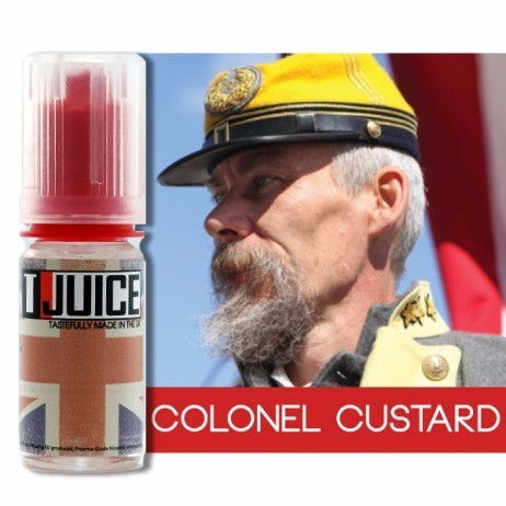 T-Juice - Colonel Custard - e-Liquid