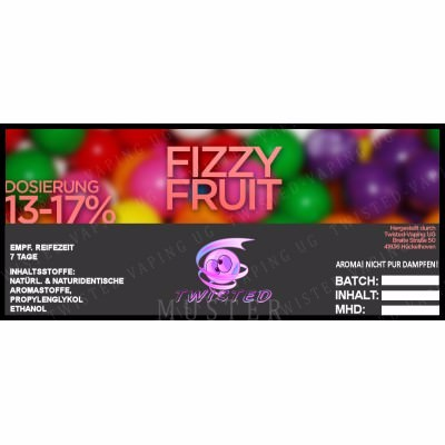 Fizzy Fruit - Aroma Twisted 10ml