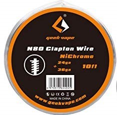 GeekVape - N80 Clapton - Wickeldraht